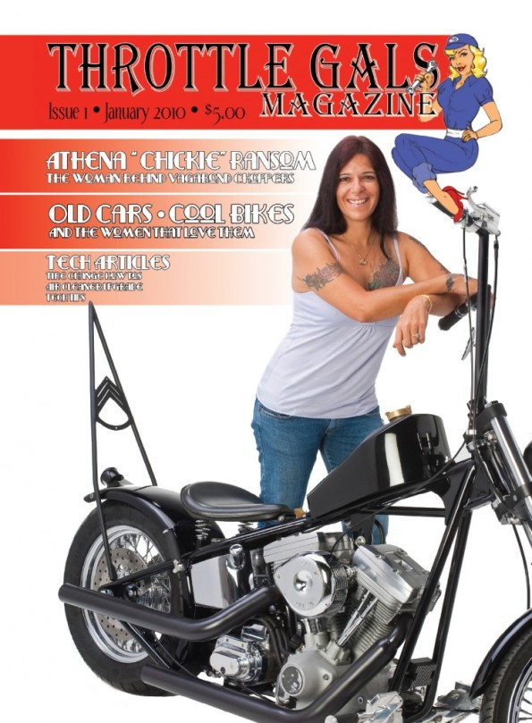 Throttle Gals Magazine- PREMIER Issue